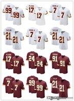 """رجل واشنطن """"فريق كرة القدم 17 تيري مكلورين 99 تشيس يونغ 91 ريان كريجان 21 شون تايلور 7 هاسكينز جونيور جونز"""