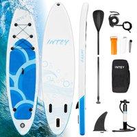 Paysfboard de planche de surf de paddleboard gonflable avec une grande position de surf de surf de la pompe à air bidirectionnelle Bateau debout Great SUP Accessoires pour débutants / jeunes / adultes