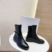 Damskie Buty Designer Fashion Martin Sheepskin Heels Kostki Motocyklowe Nubuck Leather Charm Women Shoes
