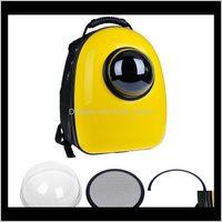 Capsula de mochila portadora con burbuja para gatos y perros pequeños Paquetes Paquetes Bolsa de hombro S2FNU Cat CarrieriersCrates Casas QMBWO