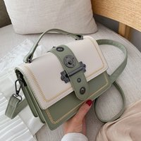 Elegant Female Casual Tote Bag 2021 Fashion New High Quality Pu Leather Womens Designer Handbag Rivet Shoulder Messenger Bags