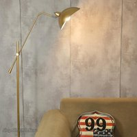 Floor Lamps Nordic-style Gold-plated Ground Lamps, Marble Base, Standing Lamp, Adjustable Longitude, Living Room, Support, E27 Accessories