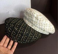 Дизайнер Beret Женская буква роскошный галстук кашемировая кашемировая шляпа клапана клапана леди открытый путешествие теплые зимние ветрозащитные каникулы капота