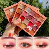 Eye Shadow Sequins Colors Matte Pearlescent Glitter 16 Eyeshadow Wet Pastel Makeup Professional Cosmetics Beauty