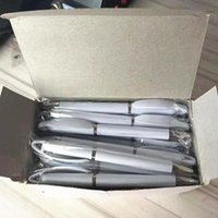 fast ship Sublimation Blank Gel Pens With Cartridge DIY Heat Tranfer White Pen stock