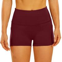 Women's Shorts ZEEUQI Women High Waist Push-up Two Inch Short Pant For Running Yoga Boxing Aerobic Training Strengh Cycling Wear