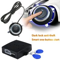 Car GPS & Accessories 12V Start Stop Button Engine Push Alarm Lock Keyless System Door Tactile Buttons Anti-theft