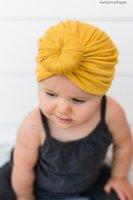 Bambini nishine 12 colori neonato bambino rosa baby bowknot morbido cotone misto cappello cappelli vestiti accessori regalo di Natale Promozione