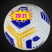 20 21 Qualidade Clube Serie A Liga Match Futebol Bola 2021 Tamanho 5 Bolas Grânulos Slip-resistant Futebol Alta qualidade Bal