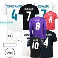 2016 2017 2018 2019 레트로 클래식 레알 마드리드 축구 유니폼 Marcelo Bale Sergio Ramos 16/17/18/19 홈 멀리 3 축구 셔츠