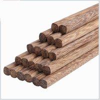 Japon Doğal Ahşap Bambu Chopsticks Sağlık Lake Balmumu Sofra Yiyecek Yiyecekler Hashi Suşi Çin Jllfwkg 562 V2
