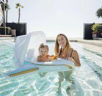 DHL السباحة الطفل الاطفال مقاعد حلقة وسائد هوائية مزدوجة العائمة pvc نفخ السباحة تعويم السلامة 2021 4966
