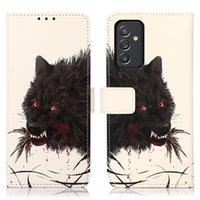 Сова кошка цветы окрашенные искусственные кожаные кошелек телефонные чехлы с слотом кредитных карт для iPhone 12 11 Pro Promax X XS MAX 7 8 PLUS COUL
