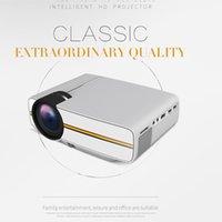 Yüksekliği Kaliteli YG400 Mini Taşınabilir LED Projektör 1000Lümen 800 * 480 DPI LCD Homeater Projektör Desteği 1080 P Proyector HDM VGA USB Projektör DHL