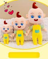 Amerikaanse voorraad groothandel gevulde dieren cartoon tv pluche speelgoed serie pluche pop kleine jongen kinderen speelgoed