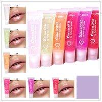 CmaaDu Lip Gloss Lips Balm 6 Colors Pure Transparent Soft Tube Moisturizer Natural Nutritious Hydrating Makeup Winter Lipgloss free ship 1000