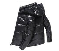 Mode Mens Jacken Parkas Frauen Klassische Casual Down-Mäntel Outdoor Warme Feder Winterjacke Unisex Mantel Outwear Paare Kleidung Asiatische Größe