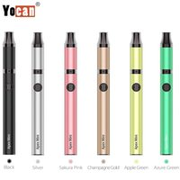 YOCAN APEX Mini Kit con 380 mAh batteria al quarzo Dual bobina penna a cera vaporizzatore di cera vaporizzatore QDC Coils System Vape