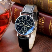 Assista Yuan Presente Moda Masculina de Quartz Men's Blue Light Light Cinto Y