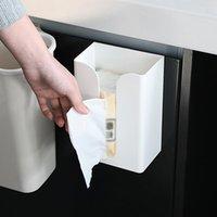 Кухонная ткань хранения корпуса настенный ящик ящик туалетной бумаги держатель коробок салфетки