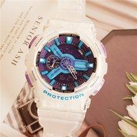 G110 Мужские аналоговые кварцевые часы спортивные часы мужские часы светодиодные цифровые наручные часы