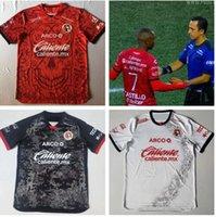 2021 Club Tijuana Vermelho Alternativa Masculina Jersey Xolos de Especial Edição Dia Los Muertos Football Shirt