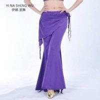 Donne Lady Belly Dance Costume Pantaloni da ballo Tribal Bellydance Vestiti Signore Pantaloni a vita alta Pantaloni Pratica Vestiti Dancewear1