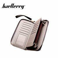 Baellerry corde Toile Portefeuille Fabuleux portefeuille pour hommes Business Business Moblie Sac 04Ob #