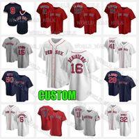 Boston Jerseys 28 J.D. Martinez 5 Enrique Hernandez 34 David Ortiz Jersey 41 Chris Vendita 11 Rafael Devias Baseball 19 Franchietto Cordero