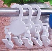 Scarpe per bambini Gancio con due clip Kids Shoe Storage Holders Display PAGS PP Materiale Merci Manifestazione Manifestazione Gancio BWB7347