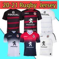 2020 Erwachsener Super Rugby Jersey Le Stade Shirt Toulouse MAILTOT CAMISETA MAGIA TOPS S-3XL Trikot Camisas Stade TououNain 2021 Mode Shirt