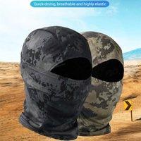 Masionera Táctica Militar Balaclava Cara Llena Bufanda Python Digital Desierto Bandana Ciclismo Pesca Quick Dry Camo Cordilleras Máscaras