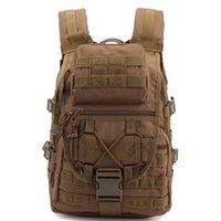 Sacs d'alpinisme de logo sur mesure Camouflage Molle Molle Military Sac à dos tactique 35L