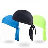 Cycling Caps & Masks Outdoor Headscarf Quick Dry Summer Men Women Running Sports Hat Bike Bicycle Cap Pirate Hood Headband Head Scarf