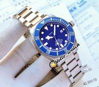 41mm 25600TB 25600 25600TN Gents Часы Синий циферблат Азиатские 2813 Автоматические мужские Часы Оригинальная Оригинальная Баклет Нержавеющая Сталь Браслет Hello_Watch