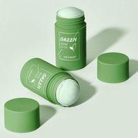 Grüne Tee Reinigungsmassivmaske tief saubere Schönheitshaut GreenceEas Feuchtigkeitsspendende Feuchtigkeitsspflege Gesichtsmasken