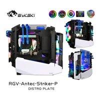 Bykski Waterway Kit de resfriamento para caso de atacante Antec, 5V Argb, Único edifício GPU, RGV-Antec-Striker-P fãs Coolings