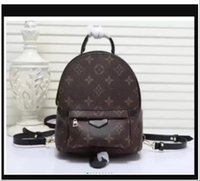 """GG """"LV"""" Louis ... Vitton YSL ... Vutton Tasarımcılar Lüks Kadınlar Palm Springs Mini Sırt Çantası Çanta Luxurys Omuz Çantaları Tasarımcılar Seyahat Messenger Çanta"""