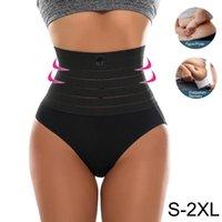 Women's Panties Womens Slimming High Waist Tummy Control Briefs Female Trainer Shaping Underpants BuLifter Shapewear Underwear