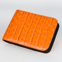 Colorful Smoking Crocodile Pattern PU Leather Case Dry Herb Tobacco Preroll Rolling Roller Cigarette Holder Storage Package Cigar Stash Bag Pocket Pouch DHL Free