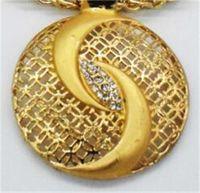 Todo Salechinese Tai Chi Jewelry Dubai Chapado Golden Collar grande Joyas Conjuntos de joyería de moda Nigeria Boda Africano Traje de cristal 300 T2