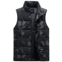 Men's Vests 7 Color Large Size Winter Down Vest Men Body Warmer Thickened Autumn Sleeveless Jackets Male Casual Work Waistcoat Plus 4XL