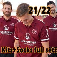 2021 2022 Nürnberg Soccer Jersey 120th Inniversary طبعة محدودة 21/22 Nurnberg نسخة عيد الميلاد Schaffler Men Kids Kits Socks مجموعات كاملة قمصان كرة القدم