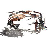 Dekorative Objekte Figuren Zeichen Stakes Aufkleber Anlage Exquisite Tierform Metall Durable Praktische Wanddekoration Aufkleber Ornament Home