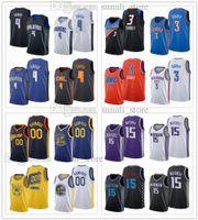 2021 Draft Pick Basketball Trikots 4 Jalen Suggs 3 Josh Giddey 00 Jonathan Kuminga 15 Davion Mitchell Blau Weiß Navy Schwarz Lila Gelb Orange Männer Frauen Kinder
