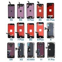 Yüksek Kalite A + + + LCD Ekran Dokunmatik Ekran Panelleri Digitizer Yedek Parçaları Için iPhone 6 Artı 5.5 inç Meclisi LCDS