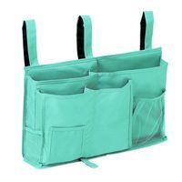 Hanging Baskets Big Deal Bedside Caddy Storage Bag Holder Organizer With 8 Pockets For Bunk Dorm Rooms And Bed Rails La