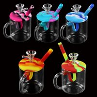 water glass hookah unqiue design bubbler dab rig oilrigsbongpipe tobacco bubblers hookahs