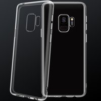 Cell Phone Cases For Samsung S21   S10 PLUS  NOTE 8 S20 Transparent shell with camera protection clear TPU Mobile Back protective Cover