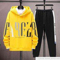 Custom Own Brand 12 Junior High School Student Spring and Autumn Clothing 13 Fat Boy 14 Sweater Sports Suit 15 Years Old Teenager Clothing Handsome Two-Piece